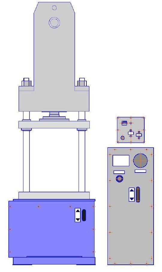 Гидравлический пресс ГПС-40