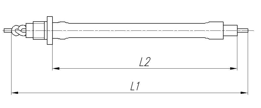 Размеры Узел самозапуска УC