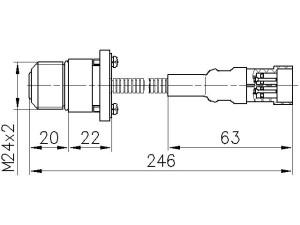 Размеры ЭС-0,5-2