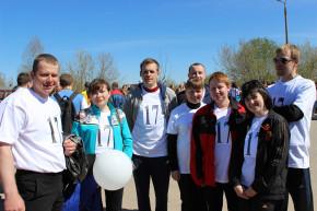 Участники эстафеты Эпотос-К